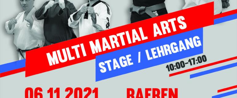 Stage / Lehrgang 06/11/21 Raeren